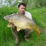 13kg krap ulovljen 2005 v reki Pesnici (Kristijan Šlebinger)