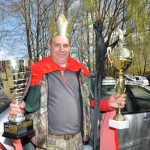 Zmagovalec tekme CAR 2015, Zorman Stanko s prehodnim, zmagovalnim pokalom ter praktično nagrado. ČESTITAMO!