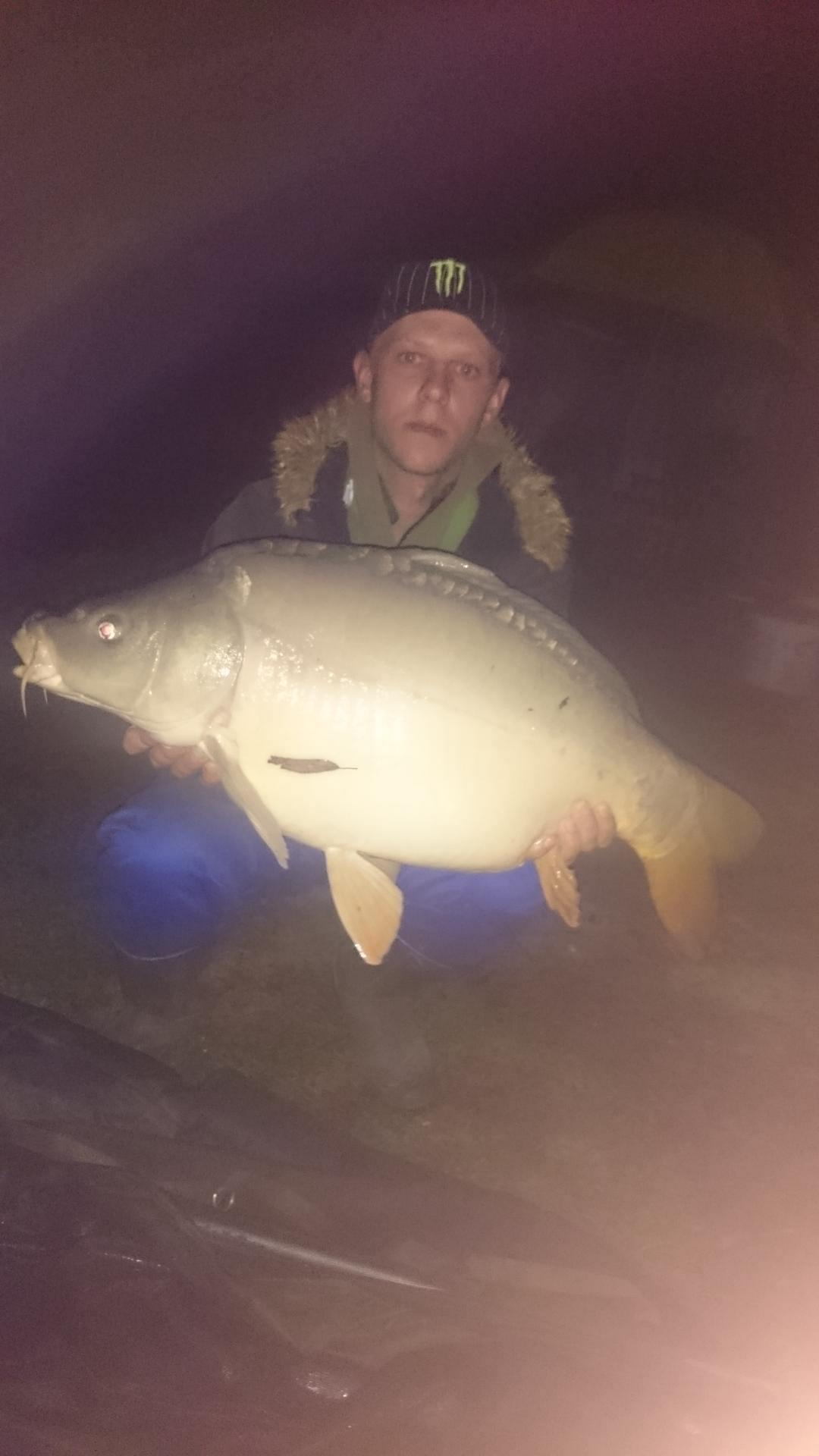 Jezero Radehova,  21.10. 2017 krap 17,42 kg, Mitar Marko.