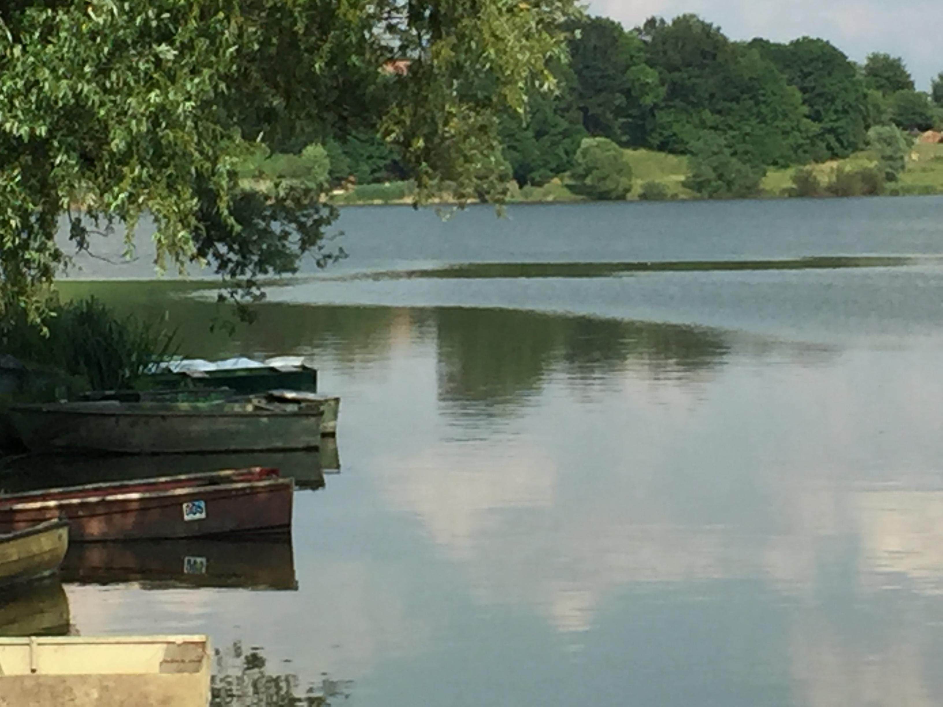Pogled na jezero Radehova nedelja 4.6. 2017 zjutraj.